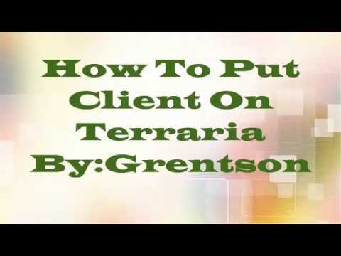 Terraria PC: How To Put Infinest Client 1.2.3.1