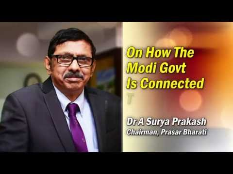 Chairman Prasar Bharati - On How Modi Govt. is connected to People..