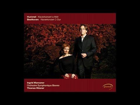 Beethoven Piano Concerto in C Major, Mov.3 - Ingrid Marsoner, Thomas Rösner, Sinfonie Orchester Biel