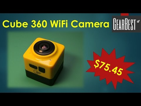 Cube 360 Camera from GearBest