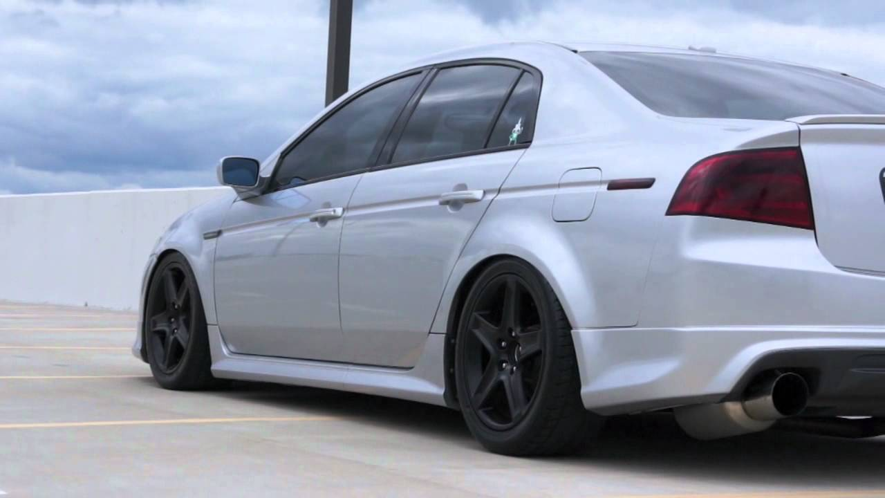 Acura TL From Black To White Short YouTube - Rims for acura tl 2006