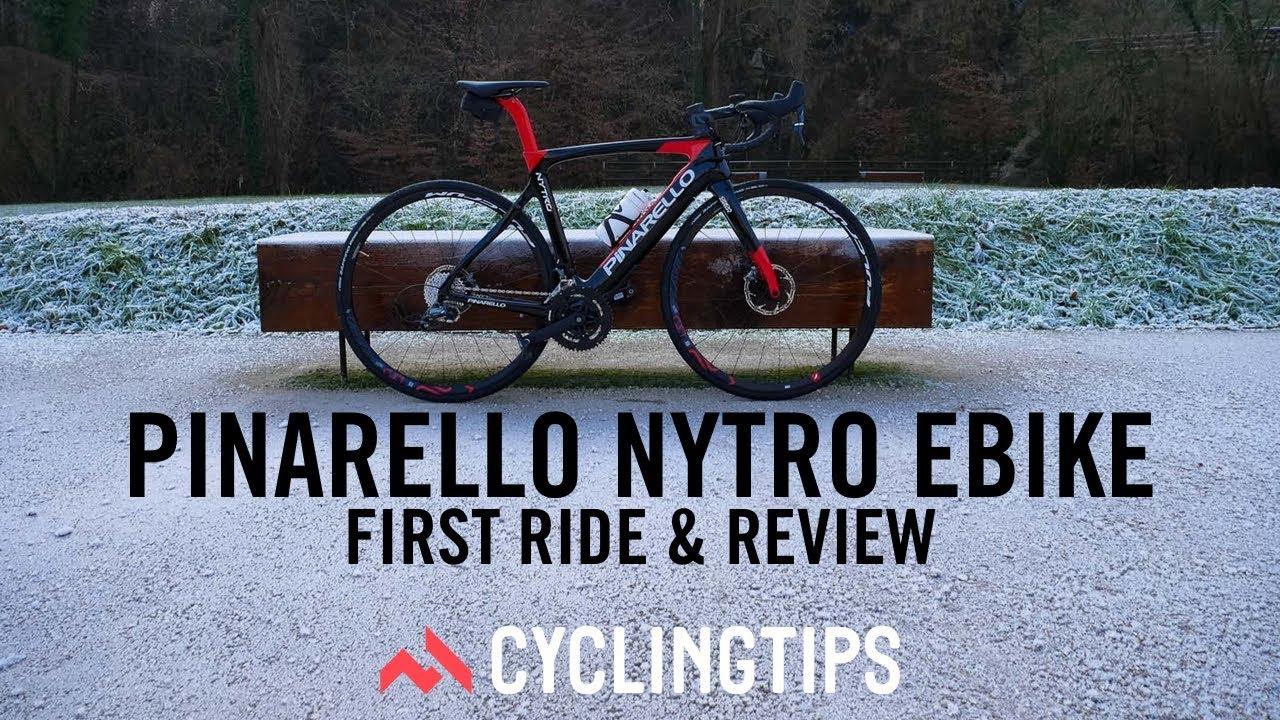 fcc78332a82 Pinarello Nytro e-bike  first ride review - YouTube