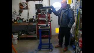 My Benchtop Drill Press Stand Project