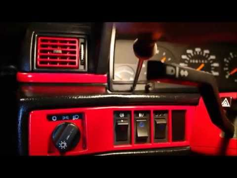 Volvo styling: How to get blue LEDS in instrumentpanel Volvo 740 940