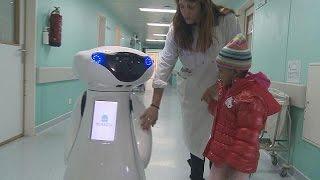 Casper: Ein Roboter-Freund für krebskranke Kinder - futuris