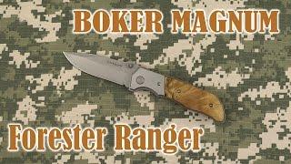 Розпакування Boker Magnum Forester Ranger