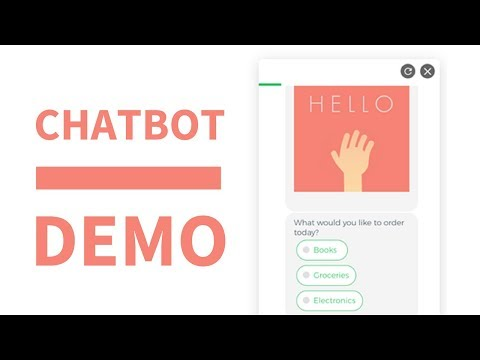 Chatbot For Website | Collect.chat Live demo