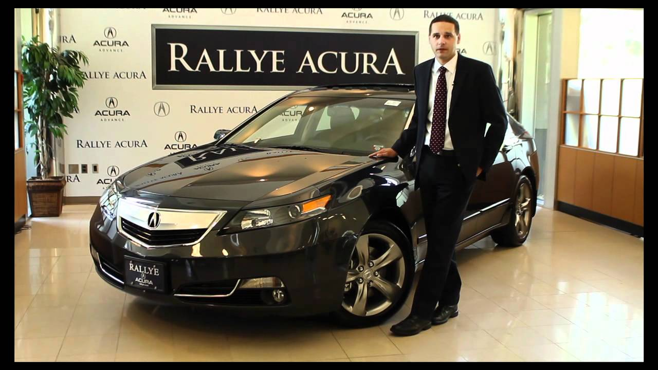 Acura 2012 TL from Rallye Acura - YouTube