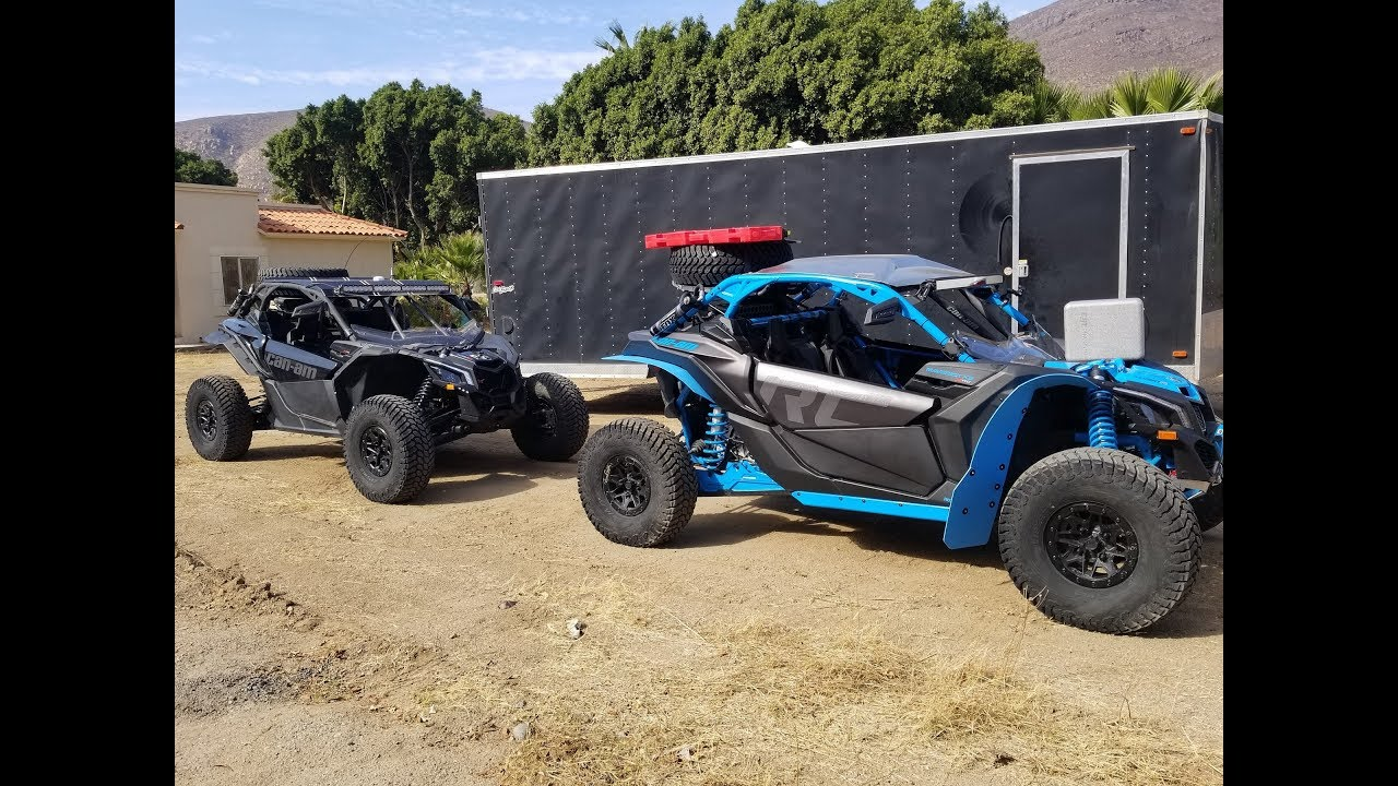 2017 Can Am 1000 >> 2018 CAN AM MAVERICK X3 XRC BAJA 1000 PRERUNNING DAY 1 ...