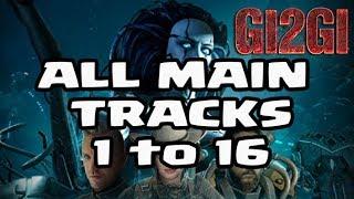 WAR COMMANDER - Deus Ex Machina ALL MAIN TRACKS 1 to 16