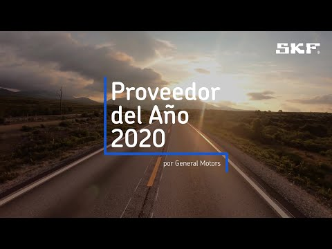 SKF ha sido nombrado Proveedor del Año 2020 por General Motors.