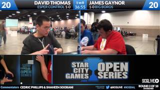 SCGDAL - Standard - Round 2 - David Thomas vs James Gaynor