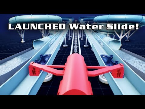 Watch: New 'absolutely terrifying' roller coaster, waterslide...