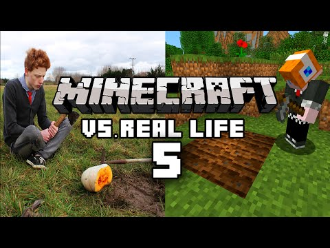 Thumbnail: Minecraft vs Real Life 5 - Farming