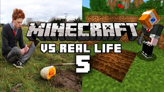 Minecraft vs Real Life 5 - Farming