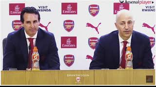 Unai Emery Unveiled At Arsenal FC Live On talkSPORT Hawksbee & Jacobs