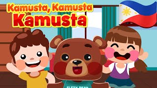 Hello Hello Hello in Filipino | Nursery Rhymes & Awiting Pambata Songs