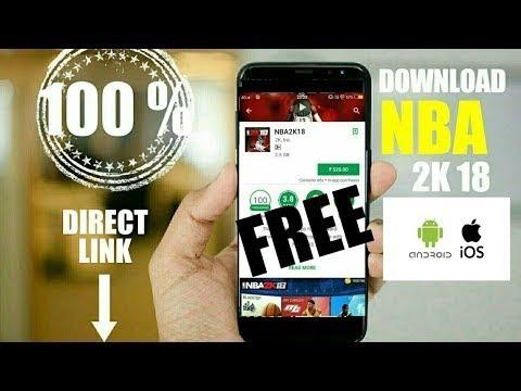 Cách tải game NBA 2K18 cho iPhone(Download NBA 2K18 for iPhone)