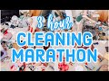 EXTREME CLEAN WITH ME MARATHON // OVER 3 HOURS OF CLEANING MOTIVATION