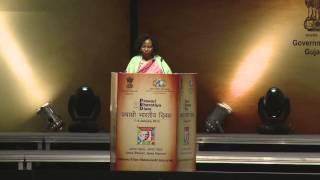 Her Excellency Ms. Maite Nkoana-Mashabane MP Pravasi Bharatiya Divas 2015