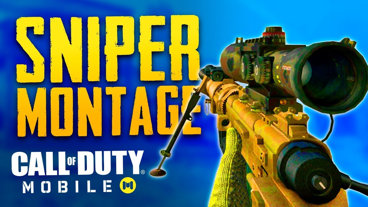 Call Of Duty Mobile Sniper Montage Youtube