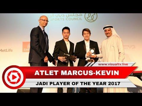 Marcus/Kevin Terpilih sebagai Player of The Year 2017 BWF