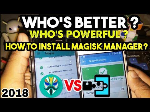 Magisk Manager Vs Xposed Installer🔥+ How To Install Magisk