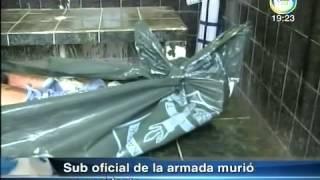 SUB OFICIAL DE LA ARMADA MURIÓ EN ACCIDENTE