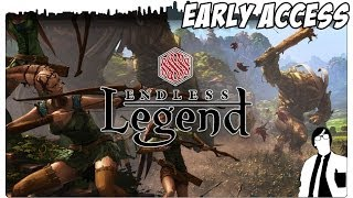 Endless Legend - Vom Weltall in die Fantasy | Endless Legend Gameplay [German]