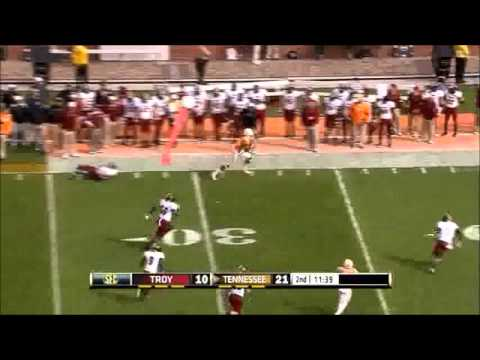 Tennessee WR Cordarrelle Patterson - Junior Highlights