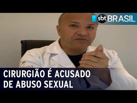 Mulheres denunciam cirurgião plástico por abuso sexual em Porto Alegre | SBT Brasil (13/07/21)