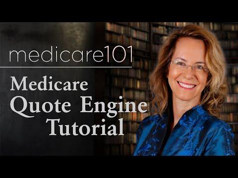 Medicare Quote Engine Tutorial