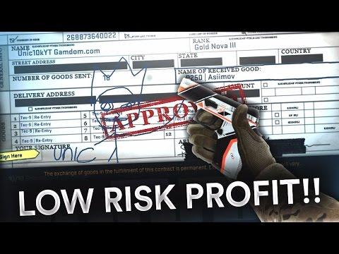 CS:GO - LOW RISK EASY PROFIT TRADEUP UNDER $10 #30
