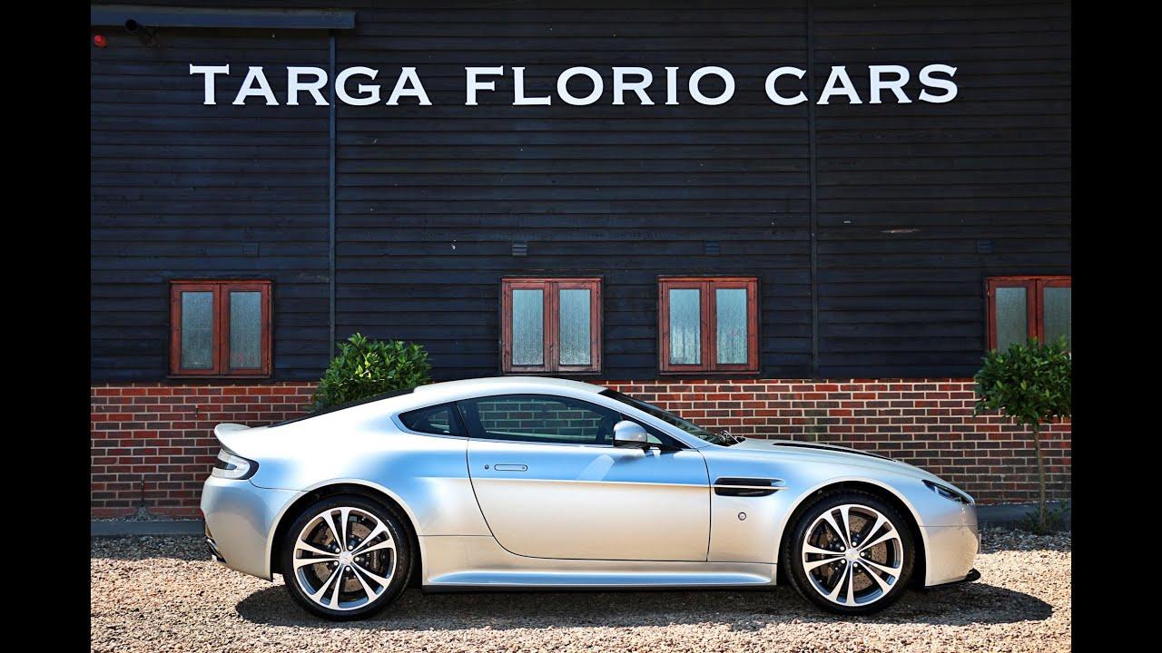 Aston Martin Vantage 6 0 V12 510bhp Manual For Sale In Titanium Silver London Uk Youtube