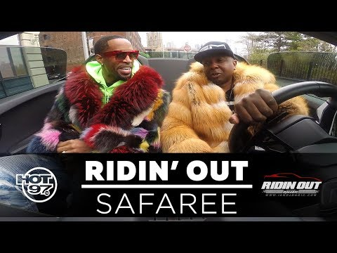 Safaree Freestyle and New Music on Ridin Out w DJ Magic