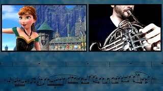 Frozen - For The First Time In Forever    French Horn & Trumpet Cover