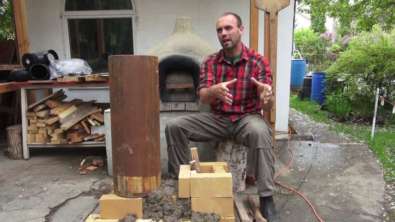 47 Rocket Mass Heaters A Better Burning Wood Stove Youtube