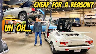 Everything Broken On My Cheap Lamborghini Countach & Diablo (One Is WAY WORSE than the Other)