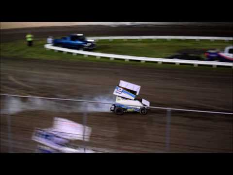 RIVERSIDE INT SPEEDWAY 600 MINI SPRINTS  7 29 17