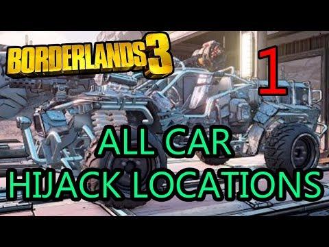 Borderlands 3: All Car Hijack Locations [Part 1]  