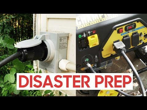 Power Your HOUSE With A Portable Generator