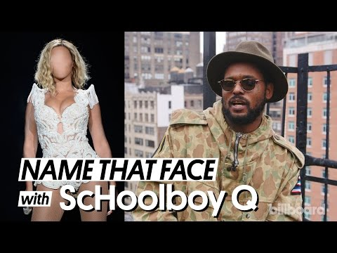 Schoolboy Q Plays 'Name That Face!' with Billboard