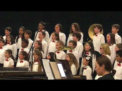 Isabela, Winter concert Whiting Lane school