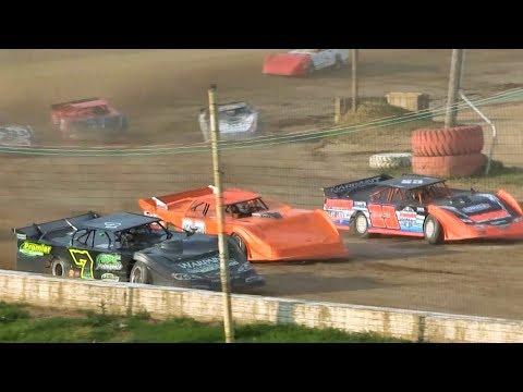 Late Model 1st Heat 6-17-17 Oakshade Raceway
