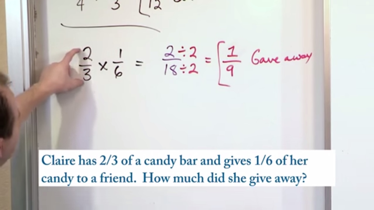 Lesson 6 Word Problems Multiplying Fractions 5th Grade Math