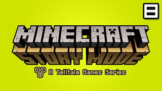 Minecraft Story Mode Let's Play: Episode 3 Part 1 - THE GRINDER