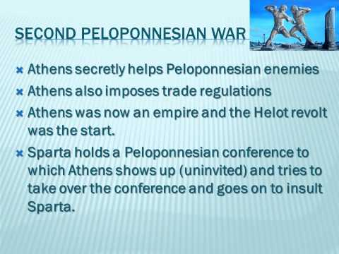 peloponnesian war with lecture sound file