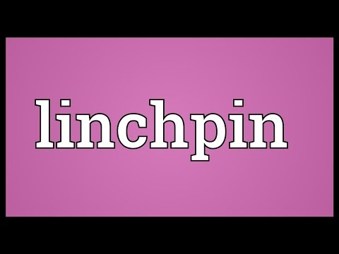Linchpin Meaning