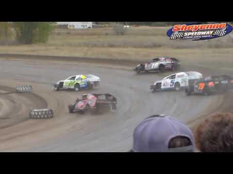 Sheyenne Speedway IMCA Modified Heats (9/30/18)
