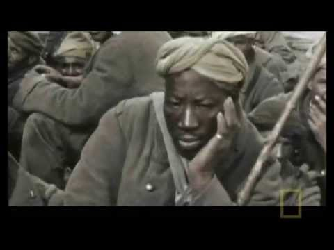 Germans mock French African soldiers